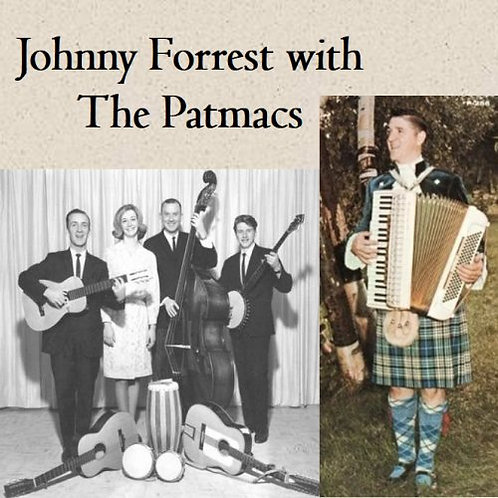 Johnny Forrest with The Patmacs CD