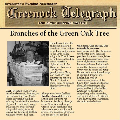 Branches of the Green Oak Tree CD