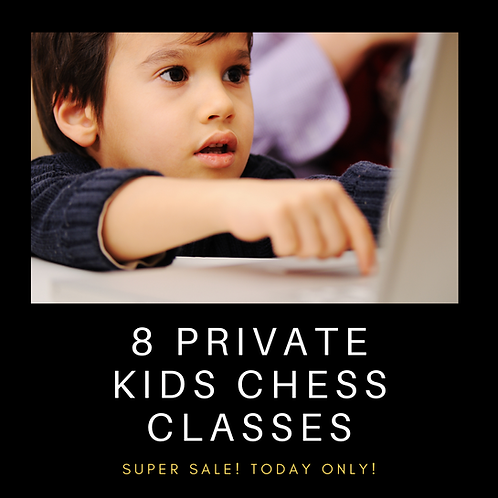 8 Private Kids Chess Classes