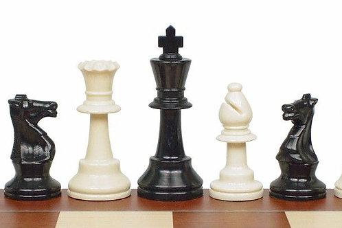 Standard / Regular Tournament Chess Pieces Weighted