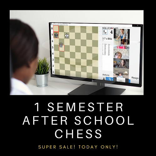 1 Semester Of After School Chess