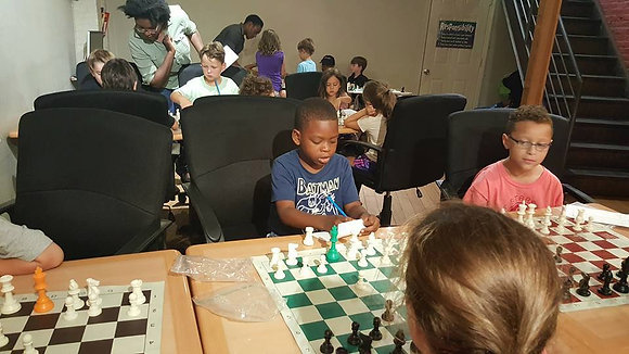 1 Full Week Of Chess -Afternoons