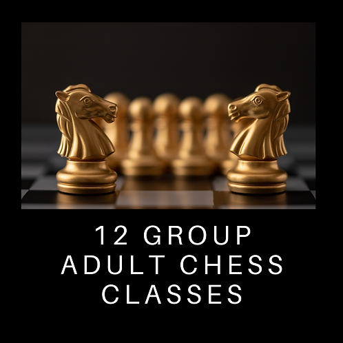 12 Group Adult Chess Classes