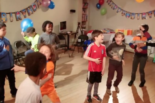 Kids Birthday Party Package -Two Hour SuperBirthday Party Hosting - 15 Kids