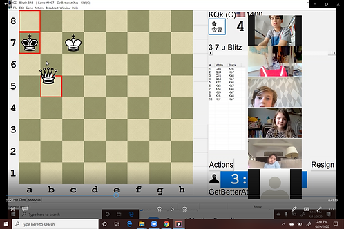 Single Kids Chess Class Online