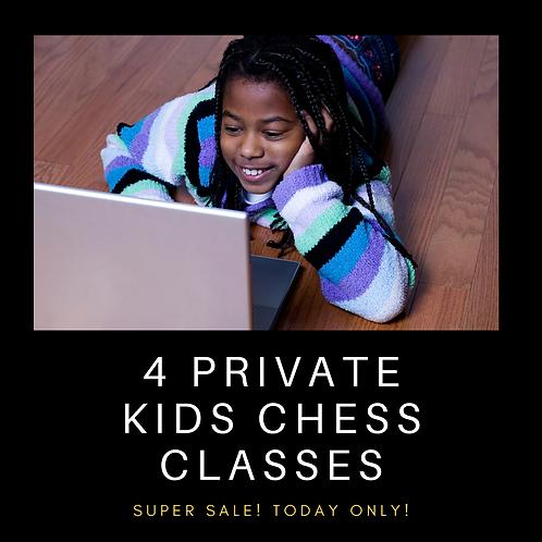 4 Private Kids Chess Classes