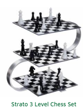 Strato Chess 3 Level Chess Set