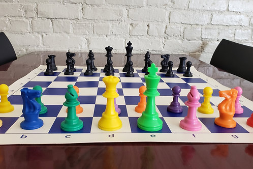 Rainbow Chess Set