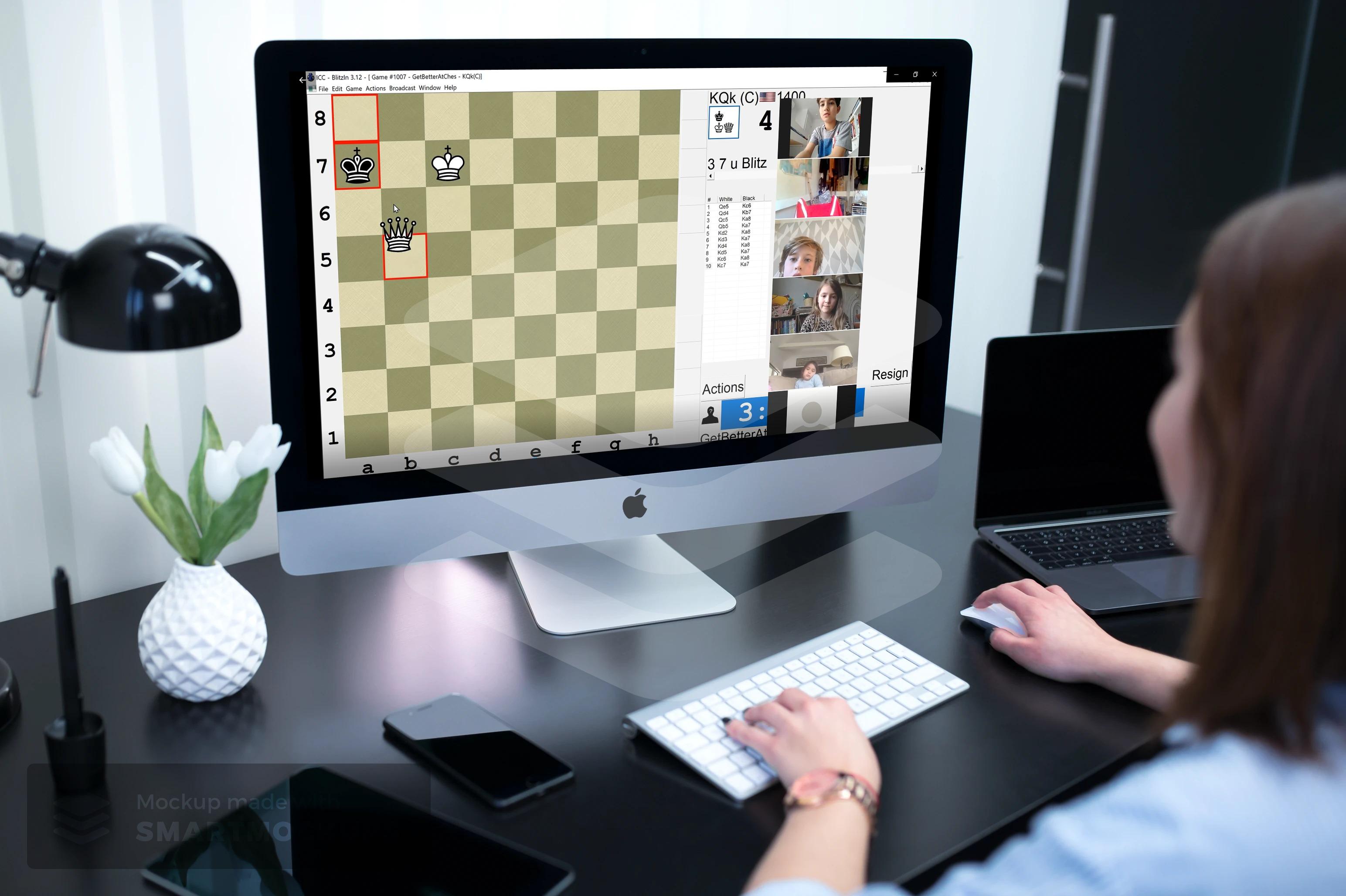 Kids Online Chess Class 1