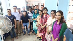 Tohoku team and Junior consultants visited BUET experimental lab