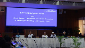SATREPS Open Forum on Visual Rating (VR) method was held at PWD Auditorium at Dhaka