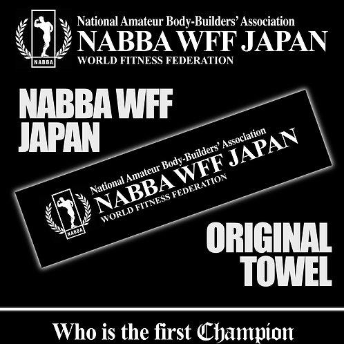 NABBA WFF JAPAN オリジナルスポーツタオル