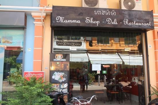 Mamma Shop  - A cozy trattoria in the heart of Seam Reap.