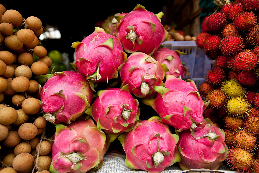 Old Market – Sime Reap. Dragon Fruit