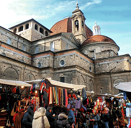 Florence, Italy Culinary Travel Food Market