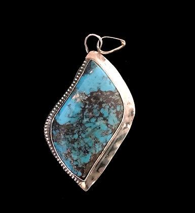 Bisbee Turquoise Pendant