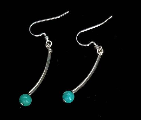 Dancing turquoise earrings