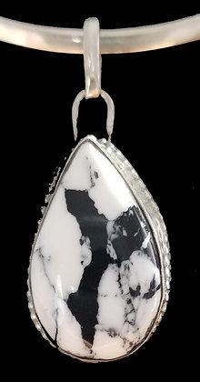 White buffalo pendant