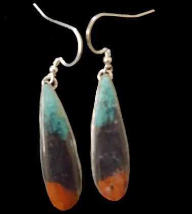 Sonoran Sunset Chrysocolla Earrings