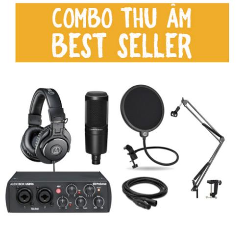 COMBO THU ÂM - BEST SELLER 2