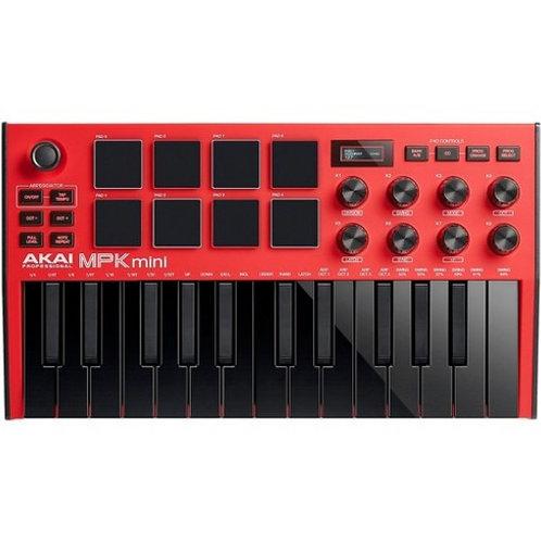 AKAI MPK Mini MK3 (Red) - Midi Controller