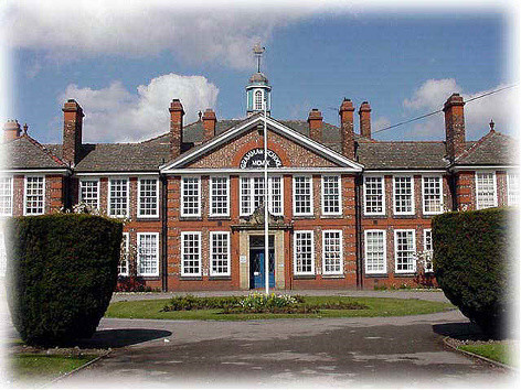 Goole High School from Boothferry Road