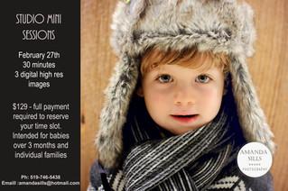 Winter Mini Sessions Are Coming!
