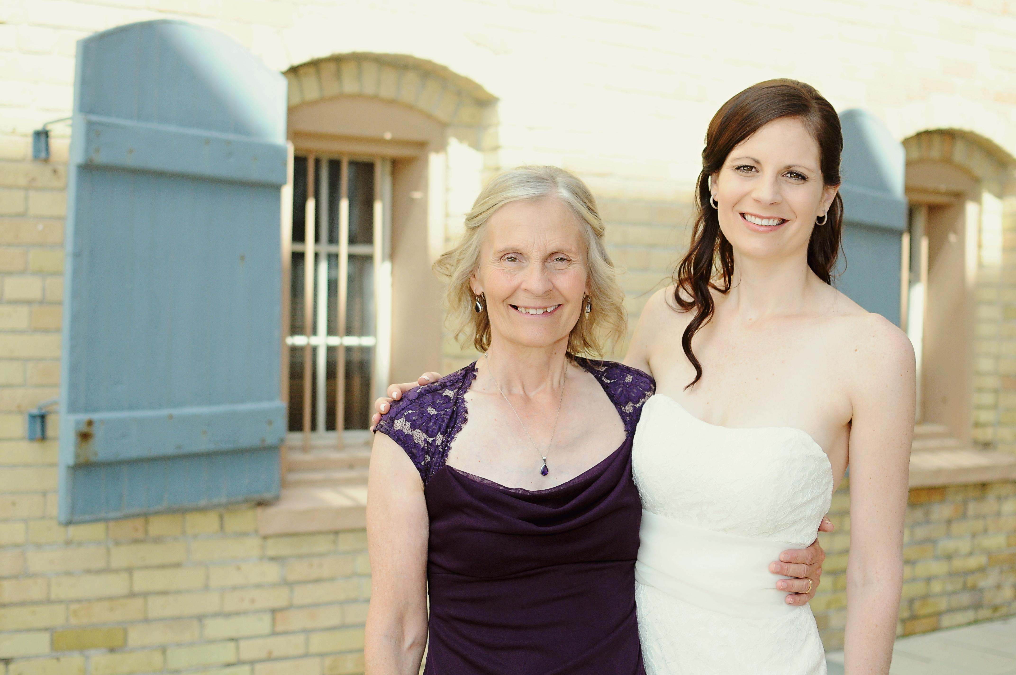 Sarah and Mom