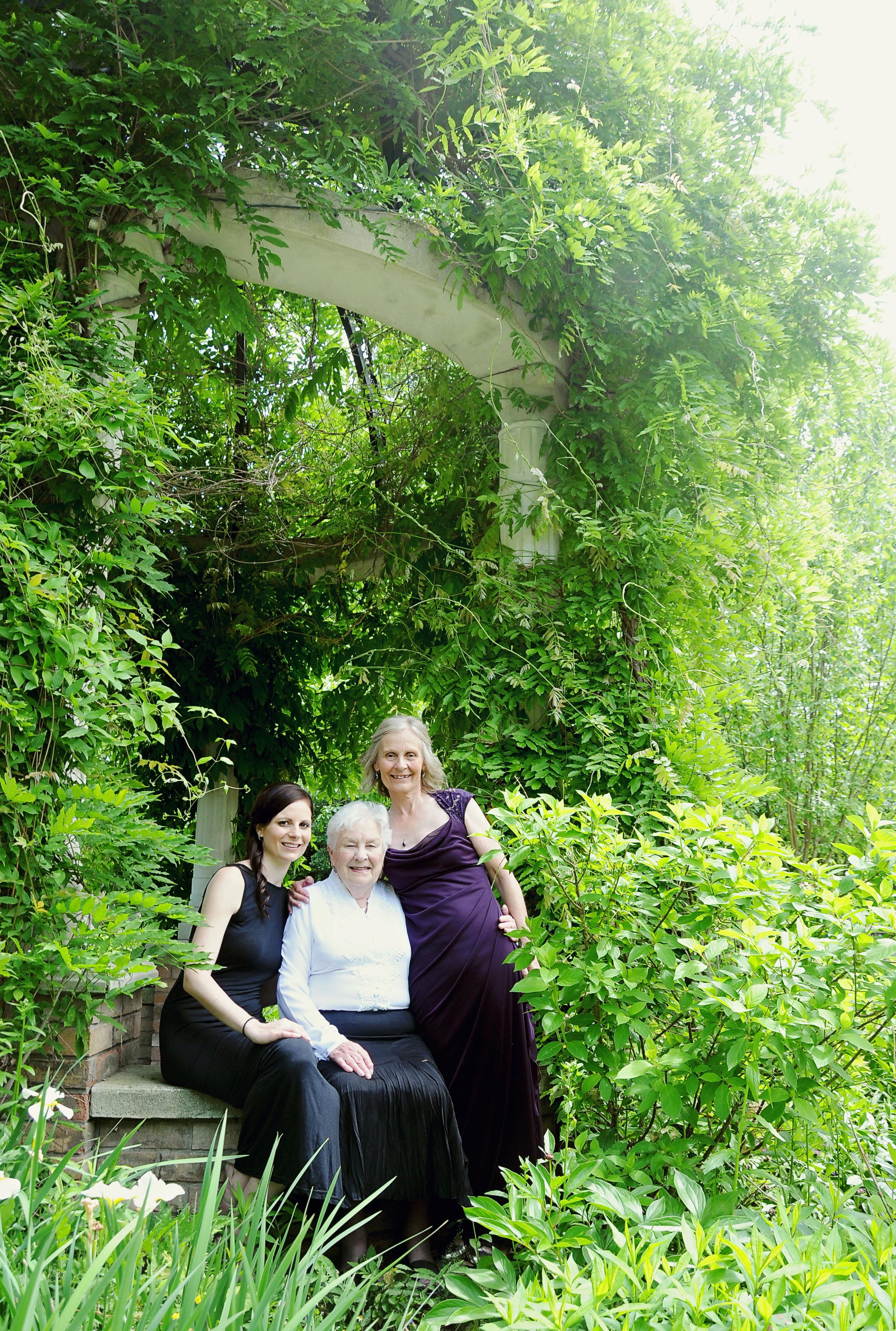 Sarah her Mom and Grandma shot 2