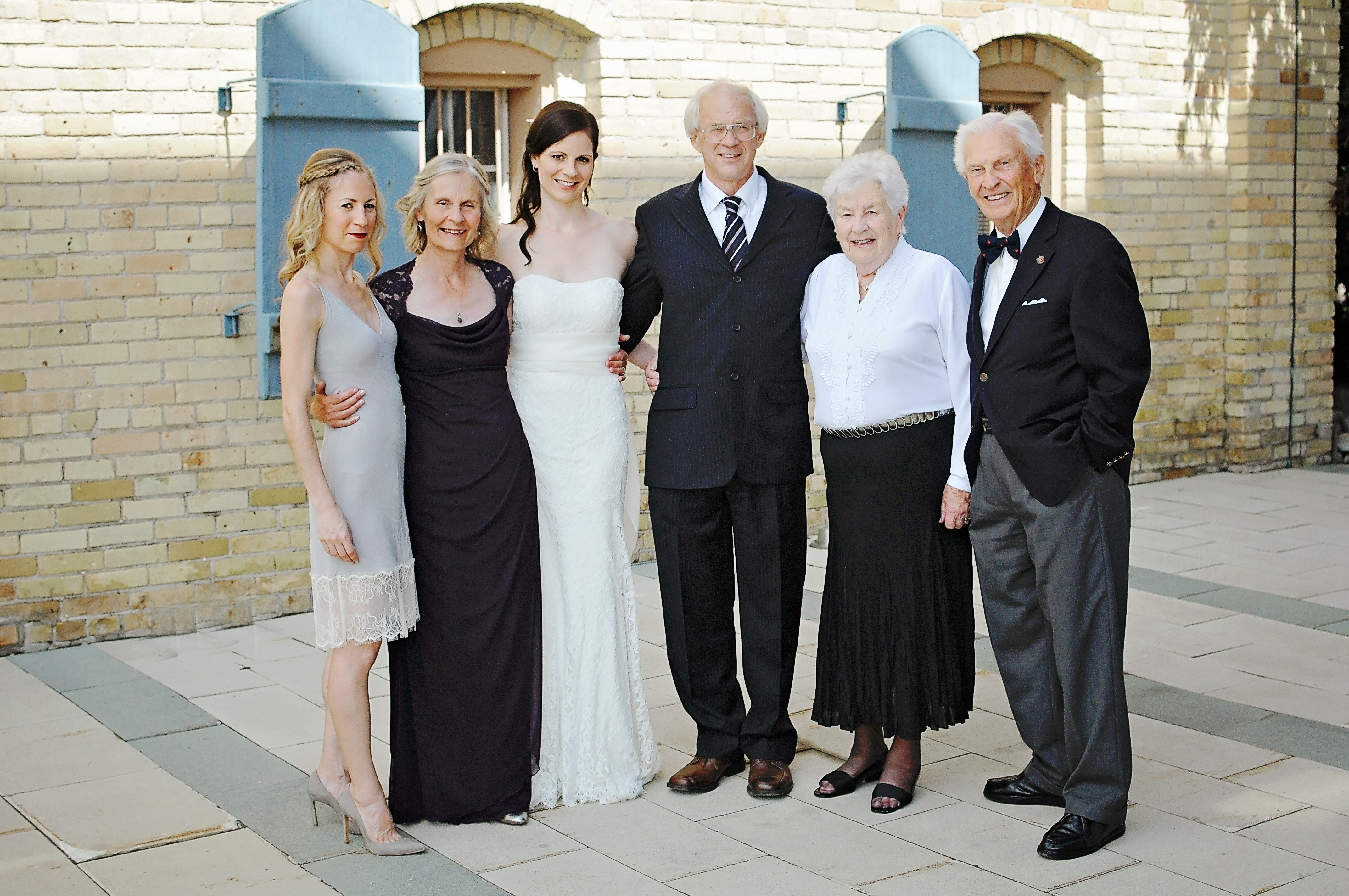 The Whole Family with Dress