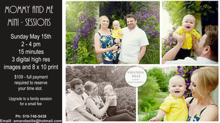 Mothers Day Mini's - Family Photography