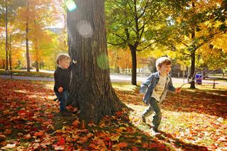 Kitchener Waterloo Family Photographer -  Fall Fun