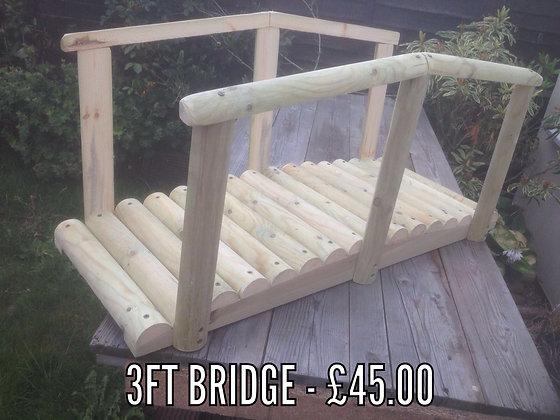 Small 3ft Ornamental Bridge