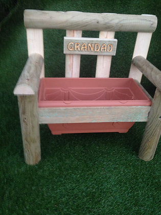 Personalised Bench Planter