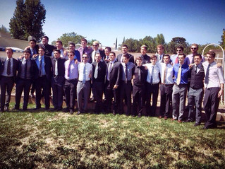 28 members are initiated into our brotherhood