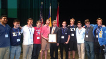 The Zeta Xi chapter recieves the Peterson Significant Chapter Award