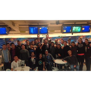 Bowling with Alumni
