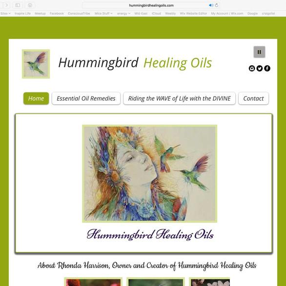 Hummingbird Healing Oils