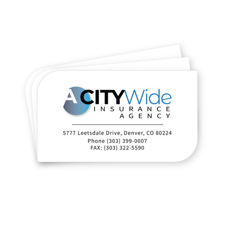 A Citywide business cards
