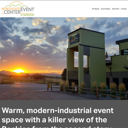 Northgate Event Center website