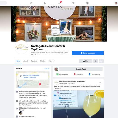 Northgate Event Center social media