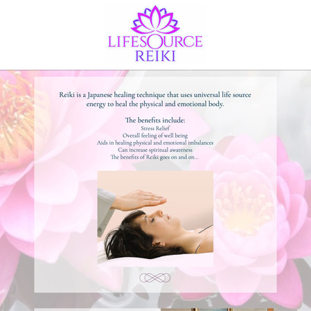 Life Source Reiki website