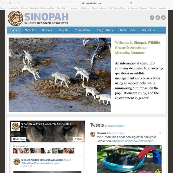 Sinopah Wildlife Research Associates