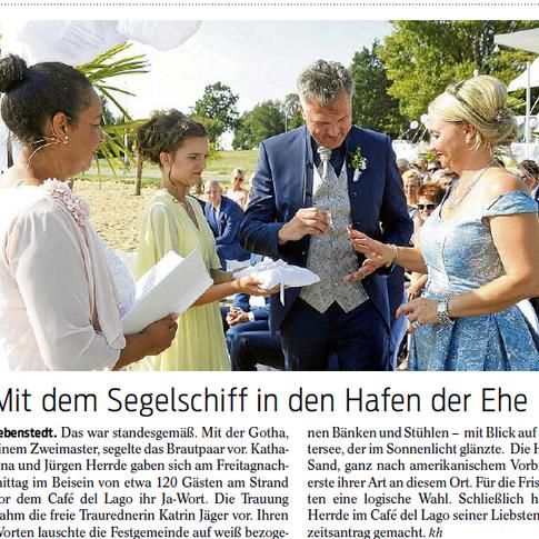 Bericht aus der Salzgitter Zeitung vom 18.08.2018