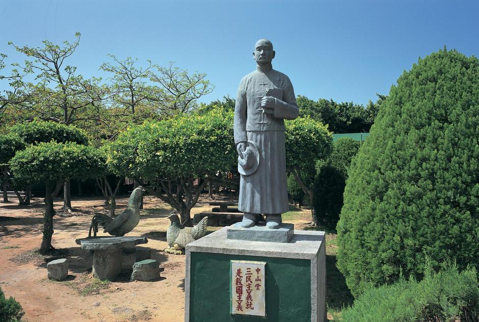 """33_<真假之間>肖像系列之3  苖栗.通霄秋茂園,2001。  20""""×24"""""""