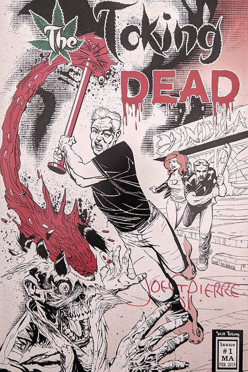 Joe St. Pierre Autographed Variant Cover LE