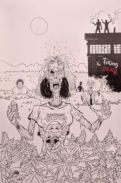 Limited Edition Steve Lavigne TMNT/TTD Print