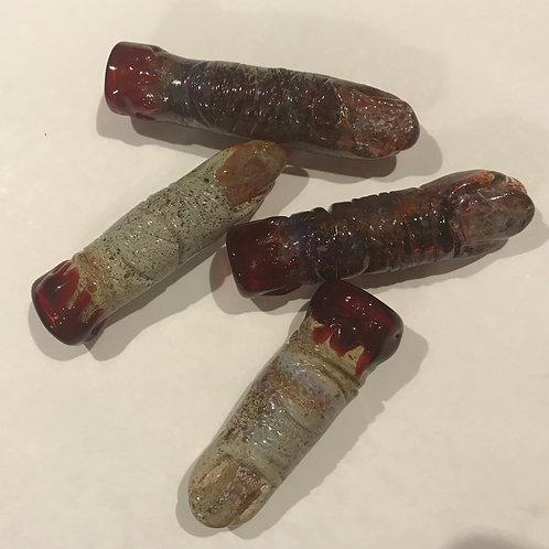 Glass Zombie Finger Chillum