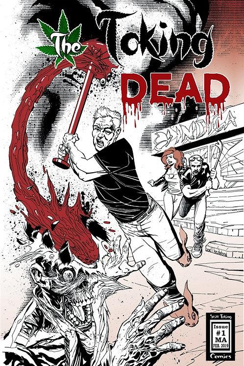 Original TTD Issue 1 -- Joe St. Pierre Cover