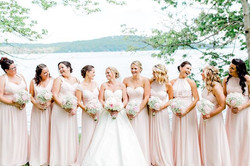 Had a blast with these beautiful ladies😍😁 #wedding #weddinghair #dovernhsalon #dovernh #churchland